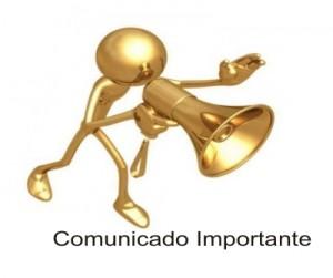 COMUNICADO PARA SÓCIOS